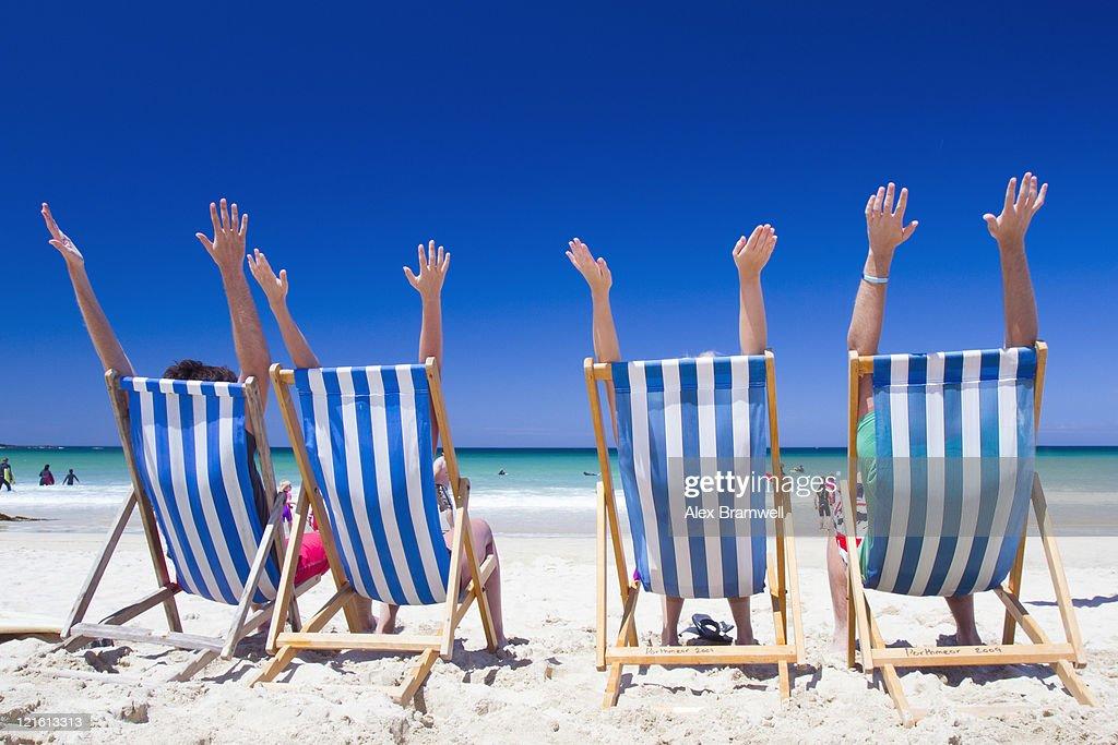 Porthmeor Beach in Cornwall : Stock Photo