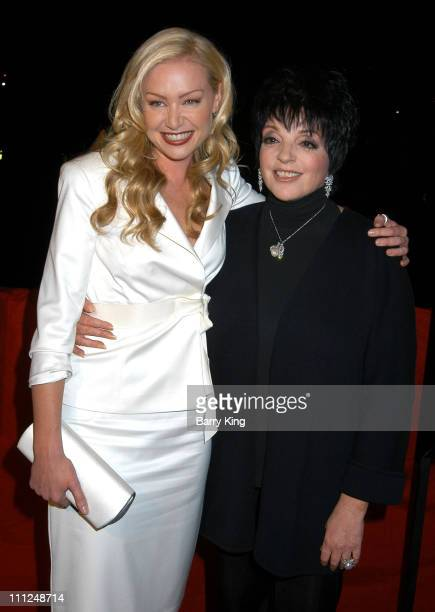 Portia de Rossi and Liza Minnelli during Yacht Party for New Fox Series 'Arrested Development' at FantaSea Yacht in Marina Del Rey California United...