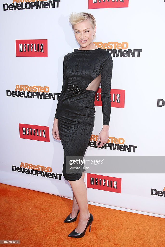 <a gi-track='captionPersonalityLinkClicked' href=/galleries/search?phrase=Portia+de+Rossi&family=editorial&specificpeople=204197 ng-click='$event.stopPropagation()'>Portia de Rossi</a> arrives at Netflix's Los Angeles premiere of 'Arrested Development' season 4 held at TCL Chinese Theatre on April 29, 2013 in Hollywood, California.
