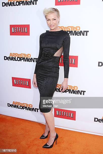 Portia de Rossi arrives at Netflix's Los Angeles premiere of 'Arrested Development' season 4 held at TCL Chinese Theatre on April 29 2013 in...