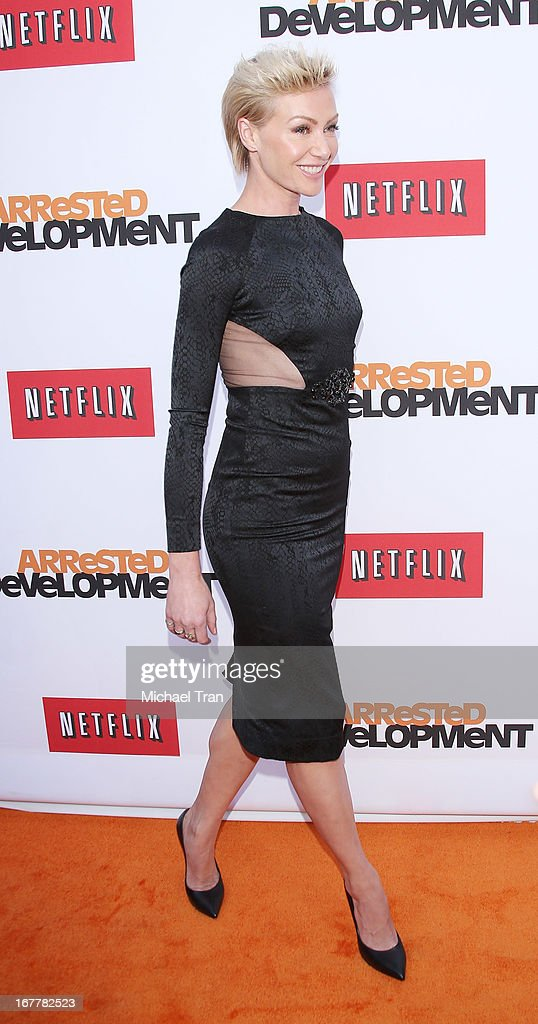 Portia de Rossi arrives at Netflix's Los Angeles premiere of 'Arrested Development' season 4 held at TCL Chinese Theatre on April 29, 2013 in Hollywood, California.
