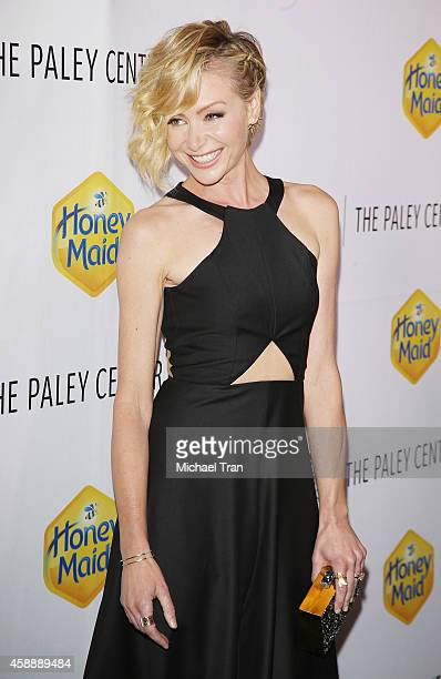 Portia de Rossi arrives at The Paley Center's Annual Los Angeles Gala Celebrating Television's Impact on LGBT Equality held at Skirball Cultural...