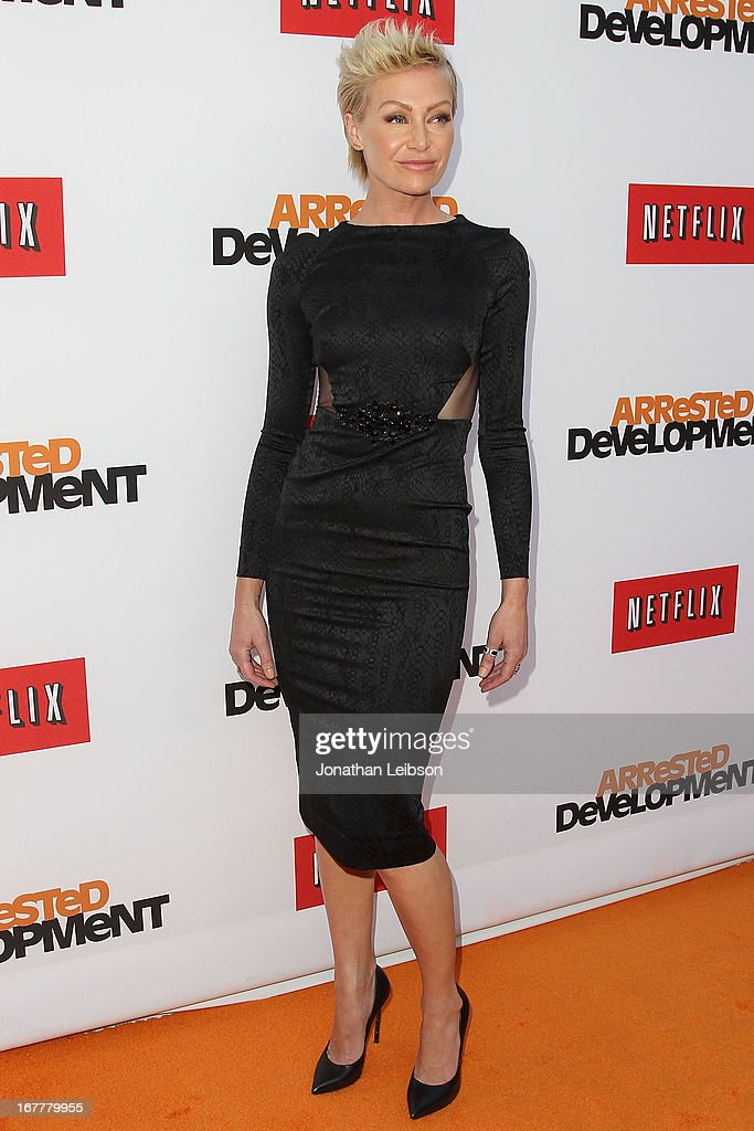 Portia de Rossi attends the Netflix's Los Angeles Premiere Of 'Arrested Development' Season 4 at TCL Chinese Theatre on April 29, 2013 in Hollywood, California.
