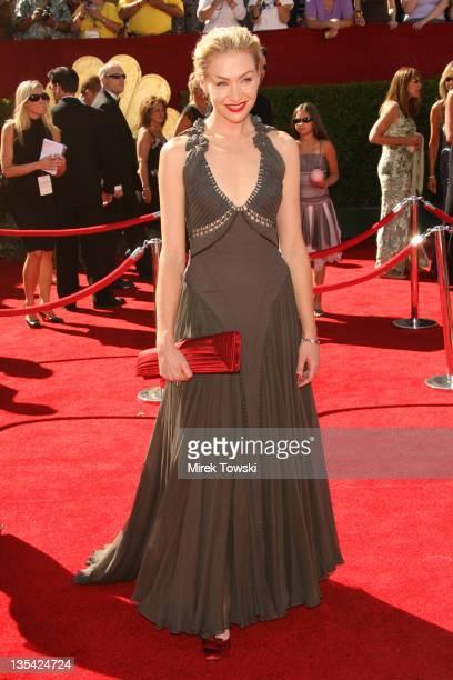Portia de Rossi during 58th Annual Primetime Emmy Awards Arrivals at Shrine Auditorium in Los Angeles California United States
