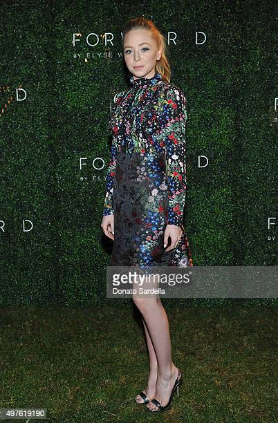 Portia Doubleday attends FORWARD By Elyse Walker and CFDA 2015 Rising Talent Launch Event on November 17 2015 in Los Angeles California