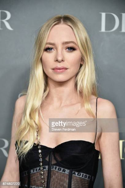 Portia Doubleday attends the 2017 Guggenheim International Gala PreParty made possible by Dior on November 15 2017 in New York City