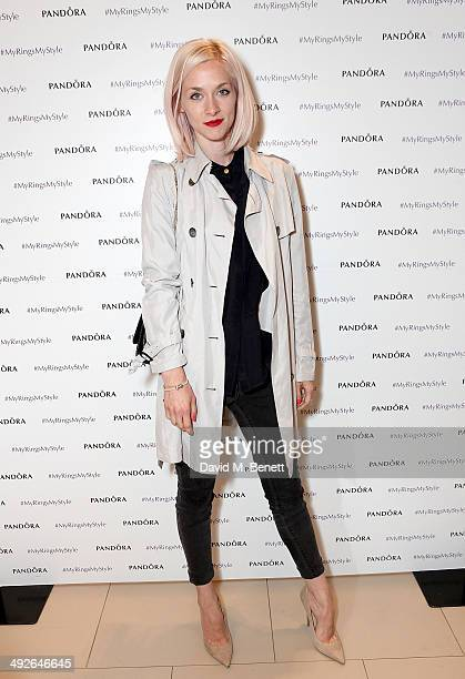 REQUIRED Portia Freeman at the Pandora #MyRingsMyStyle launch at The Marble Arch Pandora Store on May 21 2014 in London England