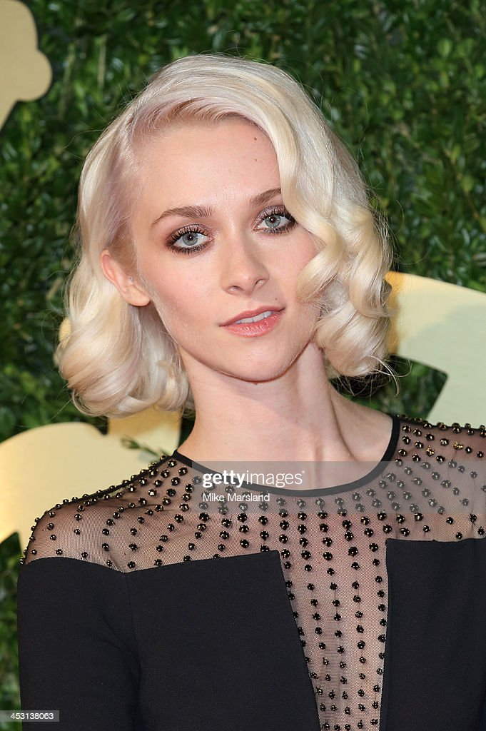 Portia Freeman attends the British Fashion Awards 2013 at London Coliseum on December 2, 2013 in London, England.