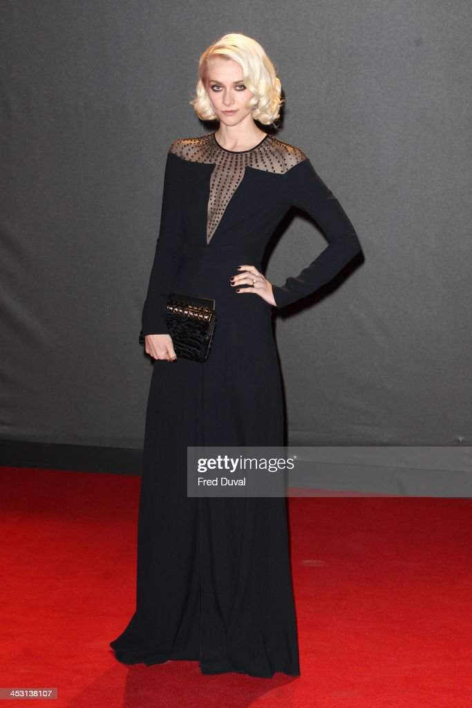 <a gi-track='captionPersonalityLinkClicked' href=/galleries/search?phrase=Portia+Freeman&family=editorial&specificpeople=2348960 ng-click='$event.stopPropagation()'>Portia Freeman</a> attends the British Fashion Awards 2013 at London Coliseum on December 2, 2013 in London, England.