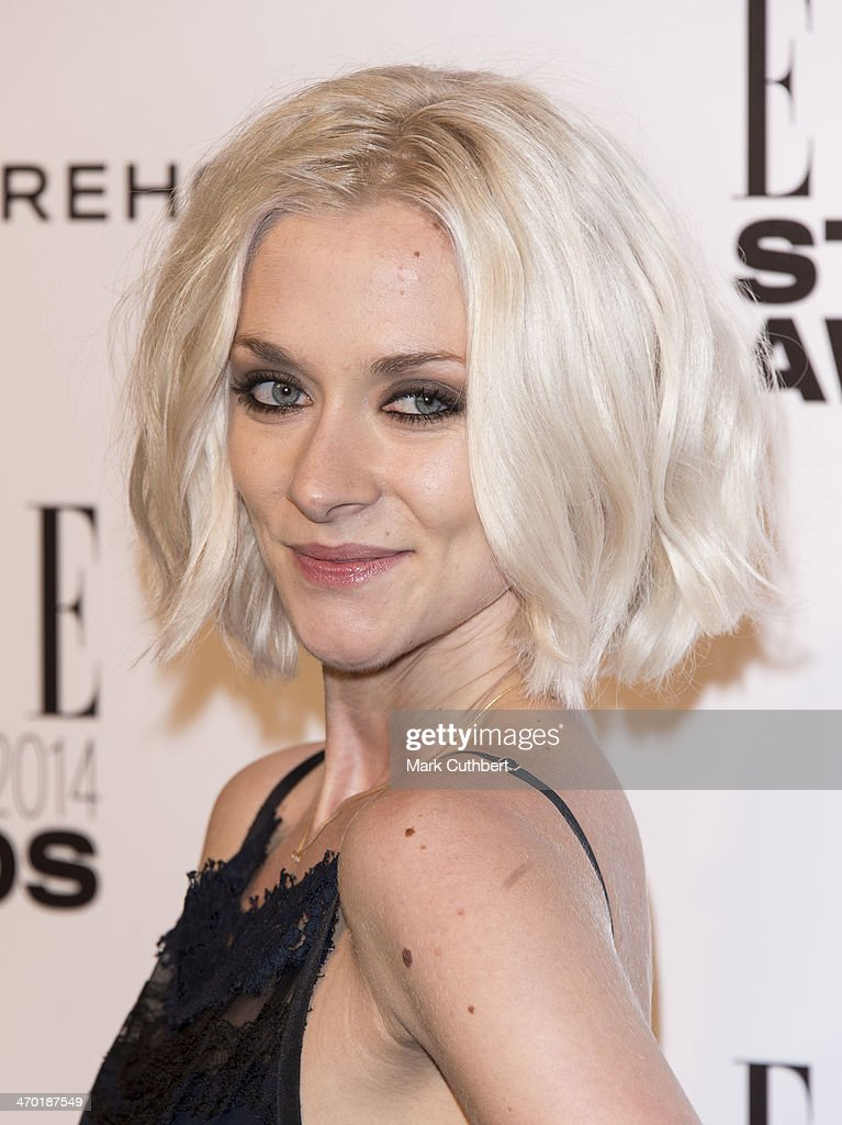Portia Freeman attends the Elle Style Awards 2014 at one Embankment on February 18, 2014 in London, England.