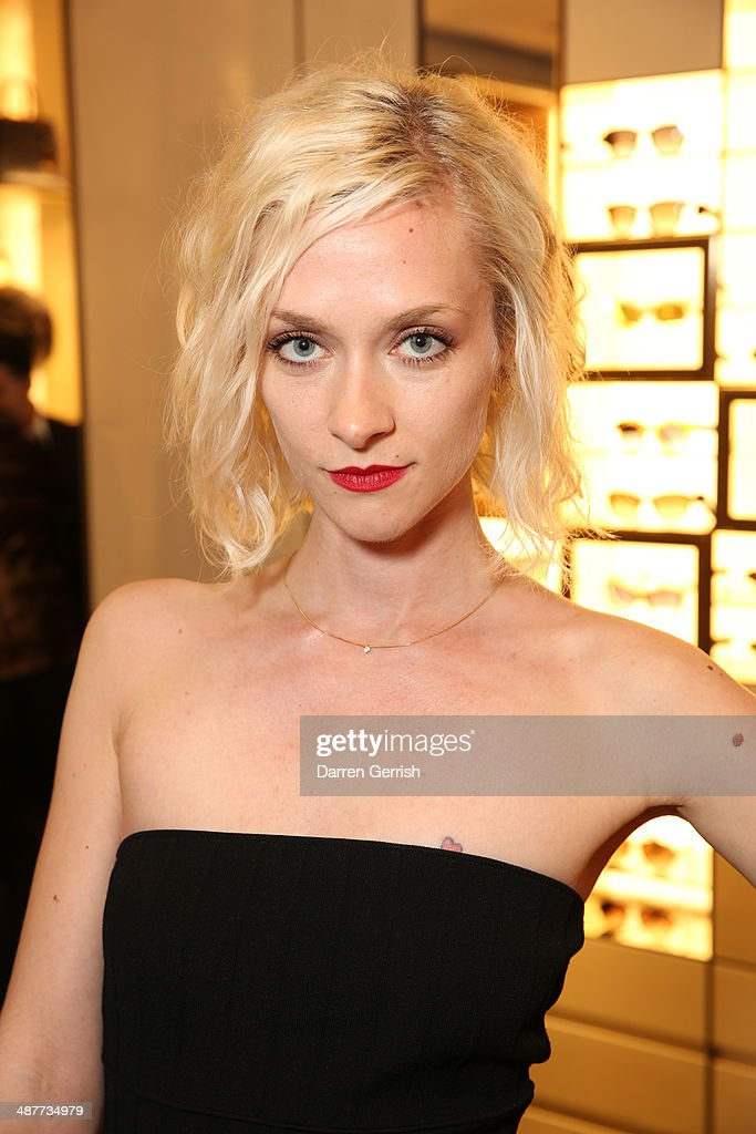 <a gi-track='captionPersonalityLinkClicked' href=/galleries/search?phrase=Portia+Freeman&family=editorial&specificpeople=2348960 ng-click='$event.stopPropagation()'>Portia Freeman</a> attends the Fendi Flagship store launch at Fendi on May 1, 2014 in London, England.