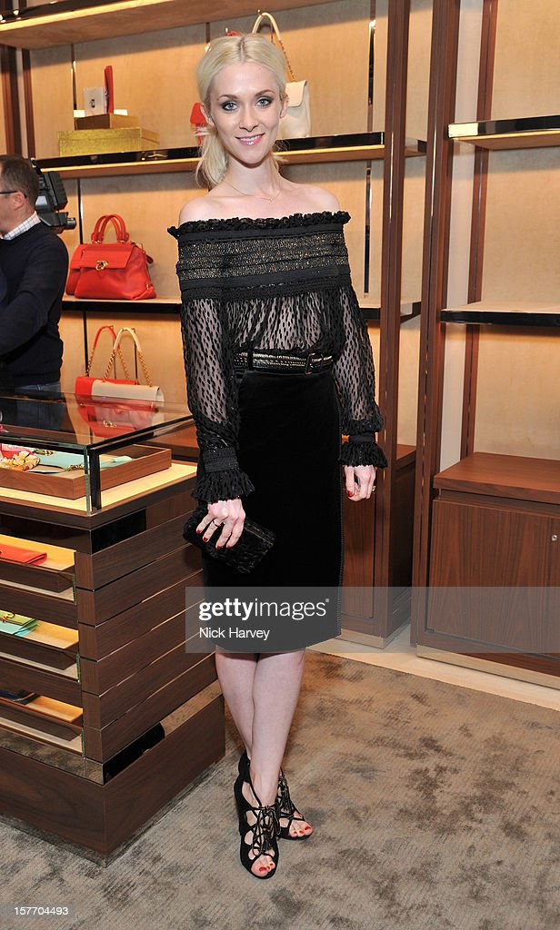 Portia Freeman attends the flagship store launch of Salvatore Ferragamo's Old Bond Street Boutique at 24 Old Bond Street on December 5, 2012 in London, England.