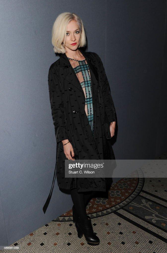 Julien Macdonald: Front Row - London Fashion Week AW14