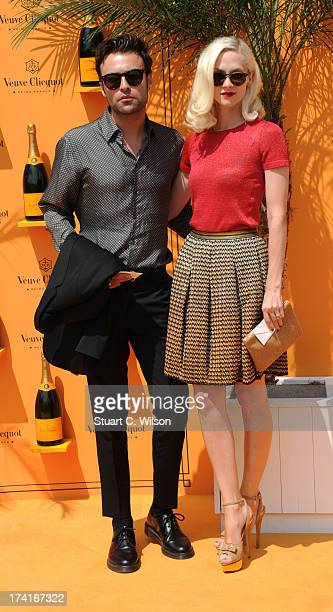 Portia Freeman attends the Veuve Clicquot Gold Cup final at Cowdray Park Polo Club on July 21 2013 in Midhurst England