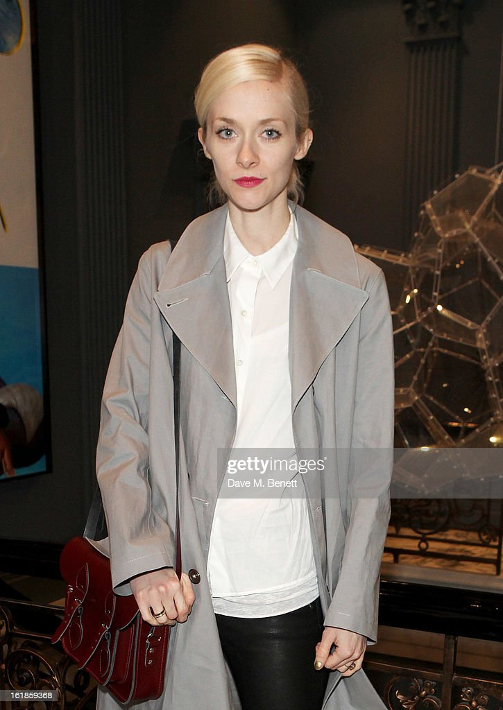 Portia Freeman attends the Whistles Limited Edition Autumn/Winter 2013 Collection at The Arts Club on February 17, 2013 in London, England.
