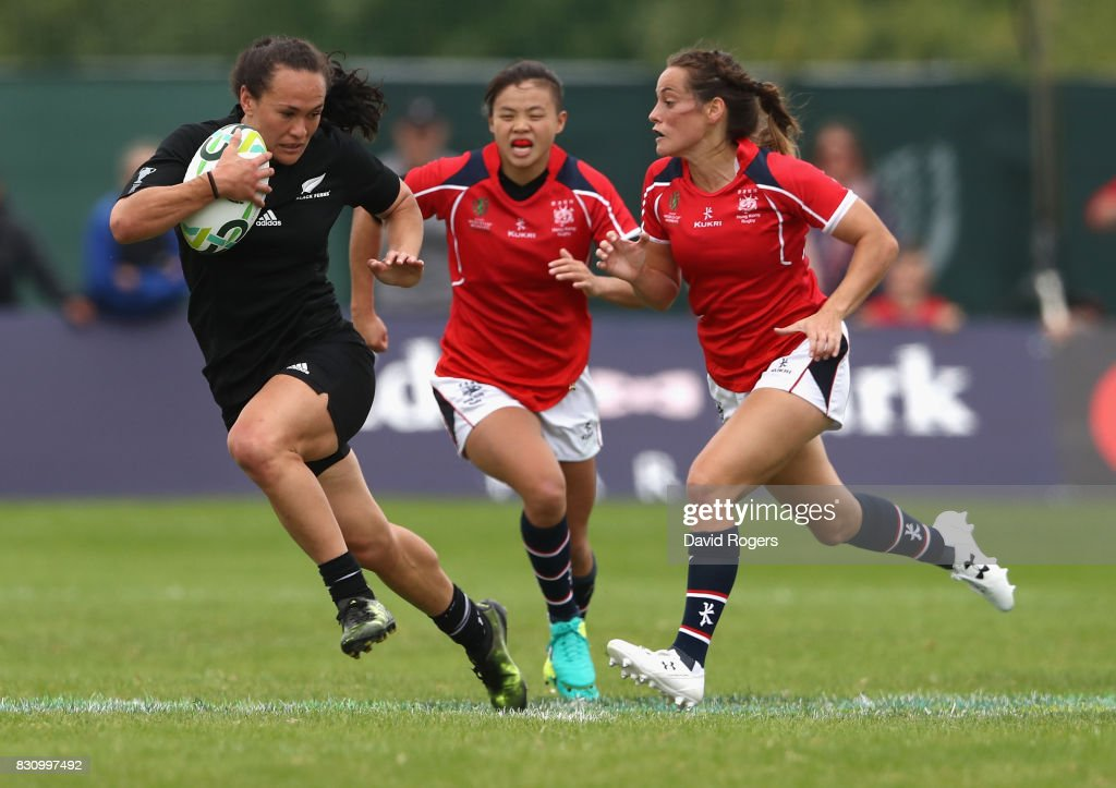 New Zealand v Hong Kong - Women's Rugby World Cup 2017