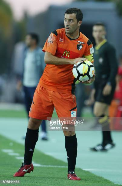 Portimonense SC defender Ricardo Pessoa from Portugal in action during the PreSeason Friendly match between Portimonense SC and FC Porto at Estadio...