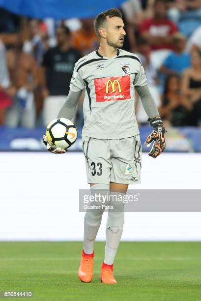 Portimonense SC goalkeeper Ricardo Ferreira from Portugal in action during the PreSeason Friendly match between Portimonense SC and FC Porto at...