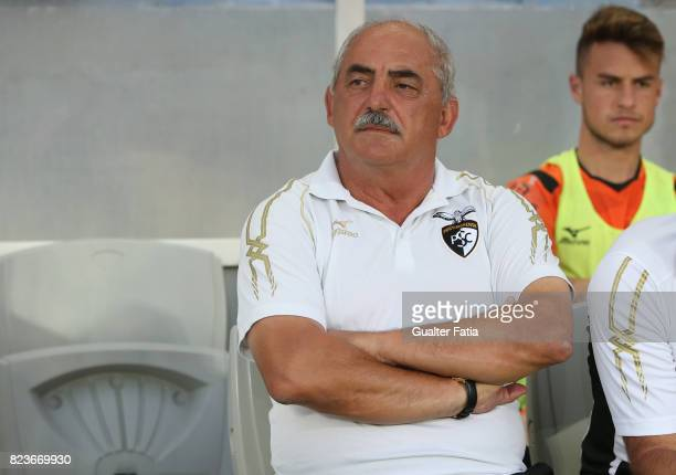 Portimonense SC head coach Vitor Oliveira from Portugal before the start of the PreSeason Friendly match between Portimonense SC and FC Porto at...