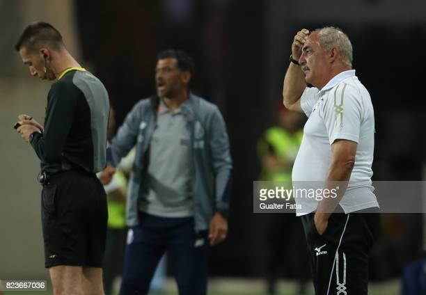 Portimonense SC head coach Vitor Oliveira from Portugal in action during the PreSeason Friendly match between Portimonense SC and FC Porto at Estadio...