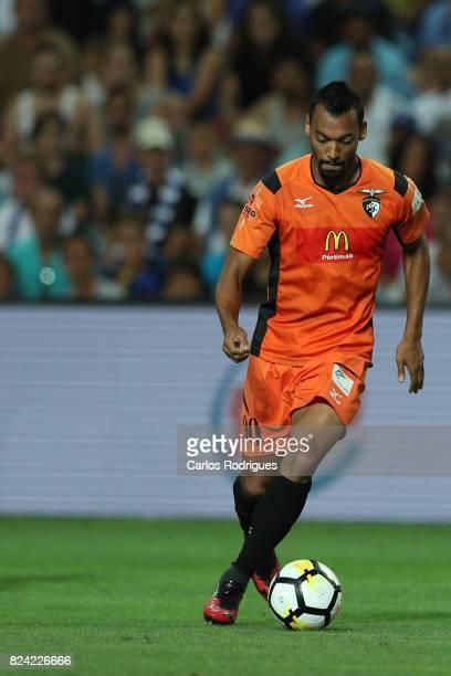 Portimonense SC midfielder Fabricio Messias from Brazil during the PreSeason Friendly match between Portimonense SC and FC Porto at Estadio do...