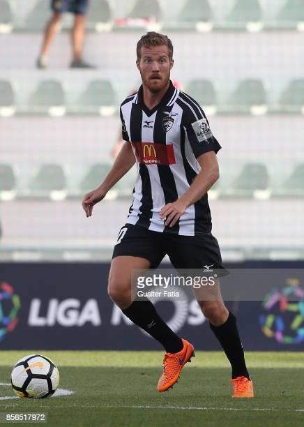 Portimonense SC midfielder Oriol Rosell from Spain in action during the Portuguese Primeira Liga match between Portimonense SC and Desportivo Aves at...
