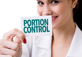Portion Control SIGN