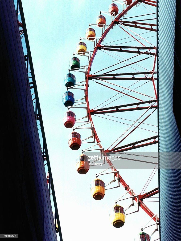 Portion of Ferris wheel, Odaiba, Tokyo, Japan : Stock Photo