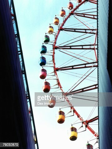 Portion of Ferris wheel, Odaiba, Tokyo, Japan : Stock Photo
