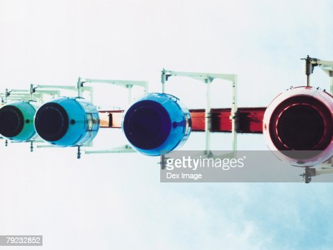 Portion of Ferris wheel : Stock Photo