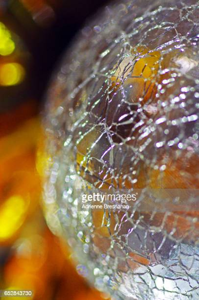 Portion of Shattered Glass Ball, Close-up