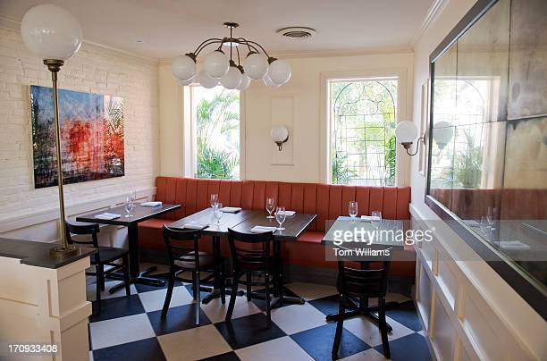 A Portion Of The Upstairs Dining Room Is Seen In Bearnaise New Restaurant By Spike