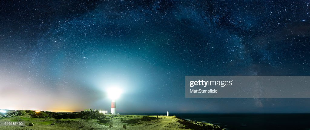 Portland Bill Lighthouse - Dorset : Stock Photo
