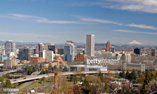 Skyline di Portland