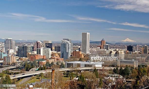 Paisaje de la ciudad de Portland