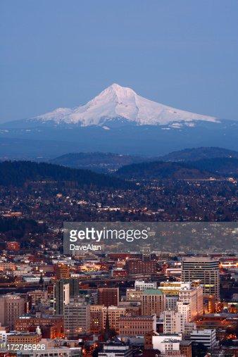 Portland al crepuscolo.