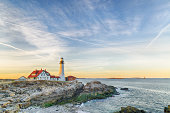 Portland Head Light At The Dusk - Portland Maine