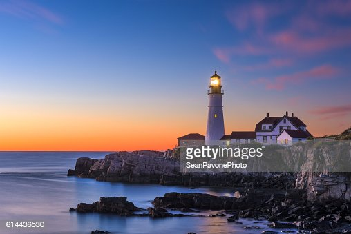 Portland Head Light : Stock Photo
