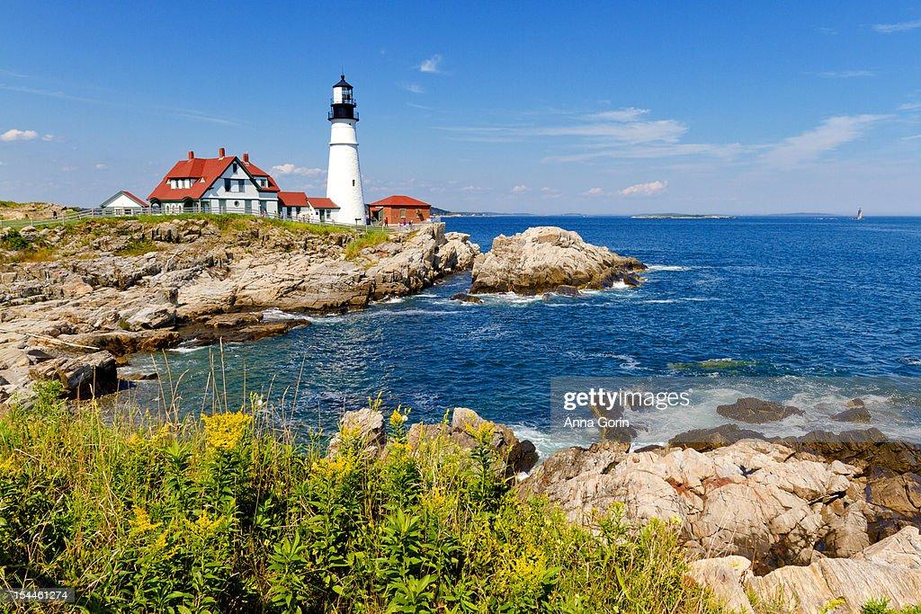 Portland Head Lighthouse, Maine, August 2012