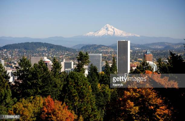 Portland in Autumn Colors