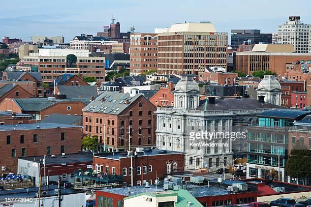 Portland Maine Cityscape