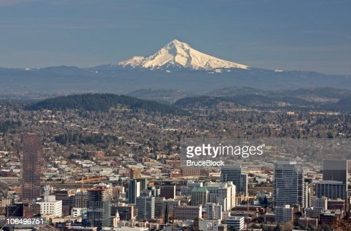 Portland, Oregon e Mt. Hood