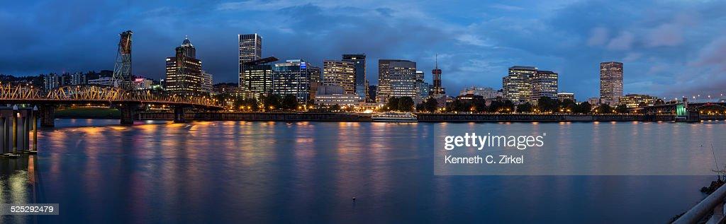 Portland Panorama : Stock Photo