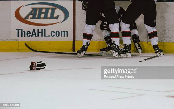 Portland Pirates against Manchester Monarchs on Saturday October 4 2014