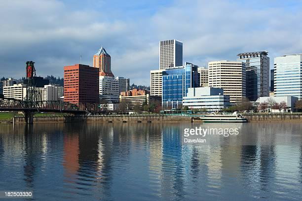 Vista de los edificios de Portland 2010.