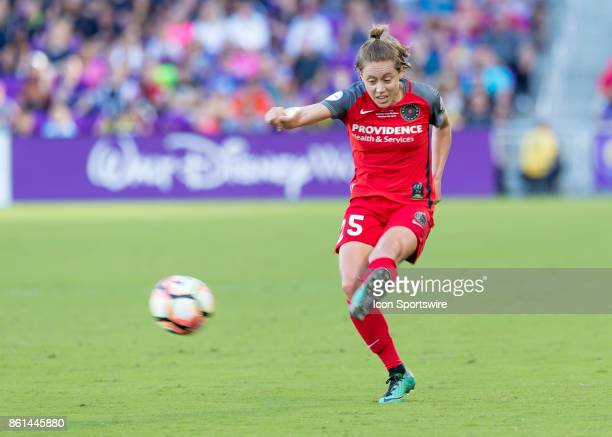 Portland Thorns FC defender Meghan Klingenberg during the NWSL soccer Championship match between the North Carolina Courage and Portland Thorns on...