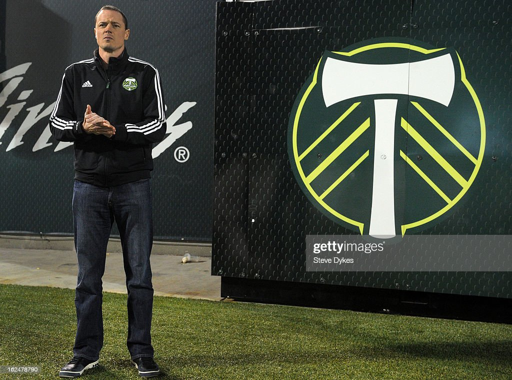 Portland Timbers owner Merritt Paulson looks on after the game against AIK at Jeld-Wen Field on February 23, 2013 in Portland, Oregon. The game ended in a 1-1 draw.