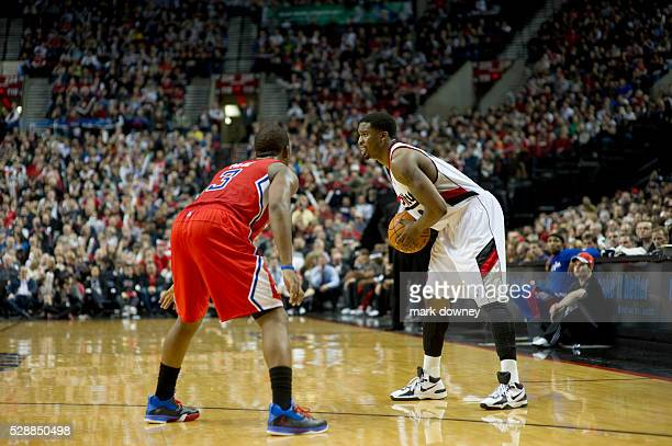 Portland Trail Blazers vs LA Clippers February 16 2012 Clippers won 74 to 71
