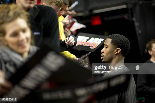 Portland Trail Blazers Youth Scrimmage autographs