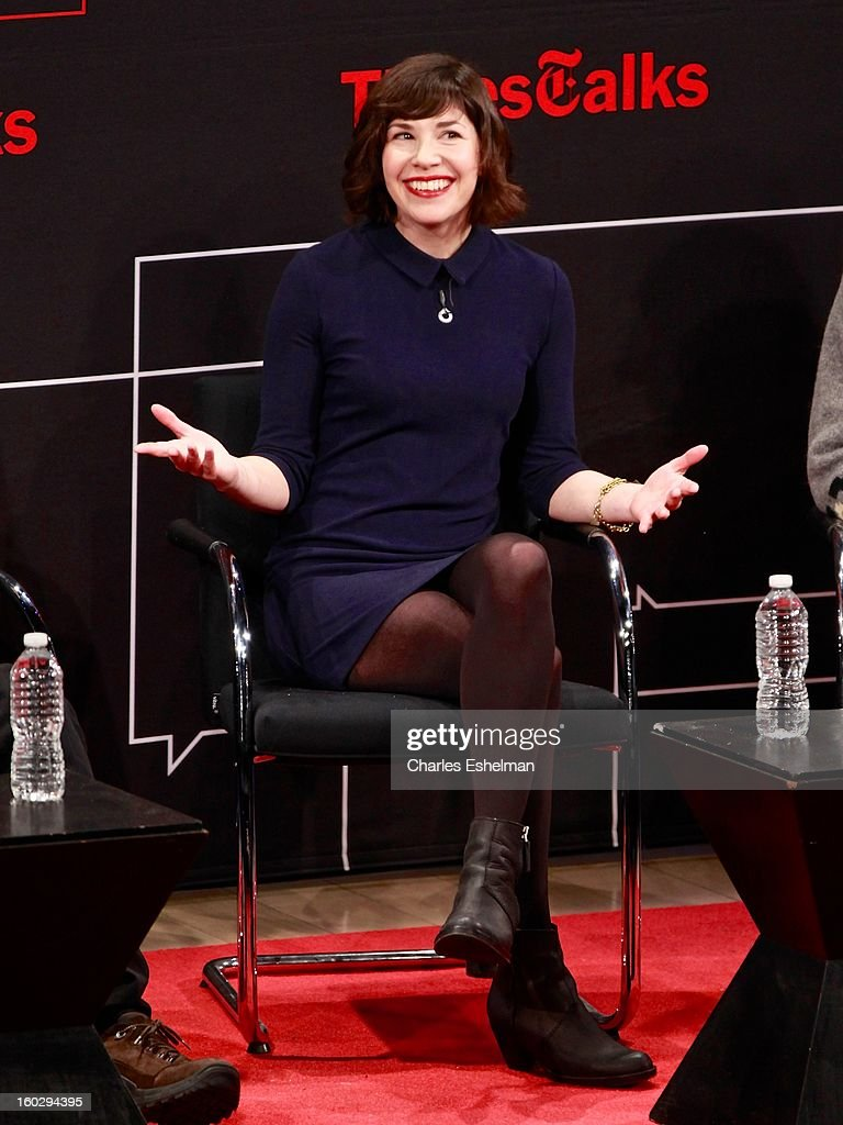 'Portlandia' co-creator/co-writer Carrie Brownstein attends New York Times TimesTalks Presents: 'Portlandia' at TheTimesCenter on January 28, 2013 in New York City.
